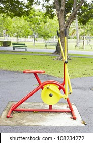 The Apparatus for Exercise in the Park