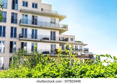appartment houses in Berlin Rummelsburg