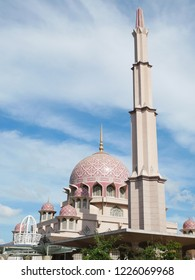 Appearance of Putra Mosque (Pink Mosque)