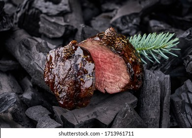 Appetizing and juicy, cooked over an open fire