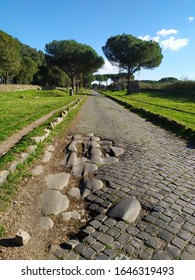 The Appia Antica Street in Rome
