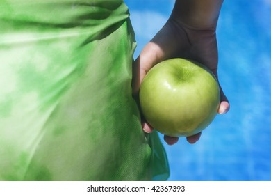 apple before swim