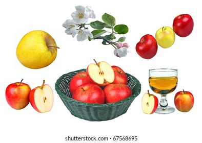 Apple collage