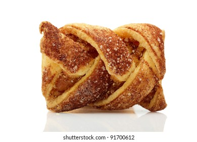 Apple cookies with cinnamon