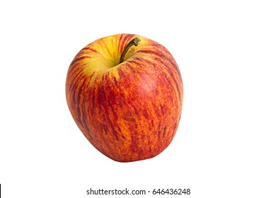 Apple - deep etched