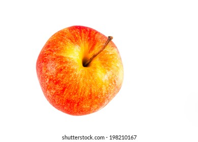 Apple eat for healthy isolated on white background