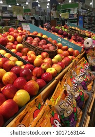 Apple fruit section at Publix Saint Augustine, Florida USA. February 4, 2018