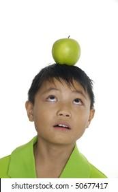 apple and head