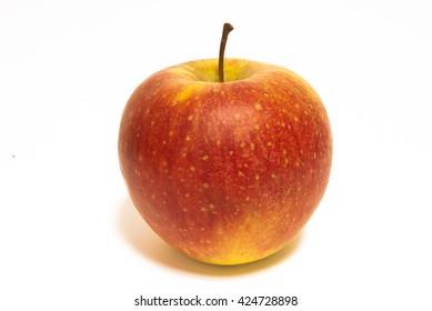 Apple isolated closeup
