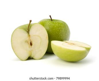 apple isolated on white background
