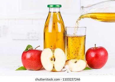 Apple juice pouring pour apples fruit fruits bottle copyspace copy space