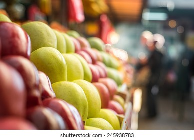 Apple at marketplace.