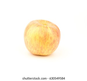 apple on white with clipping path