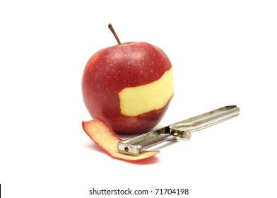 Apple peeling