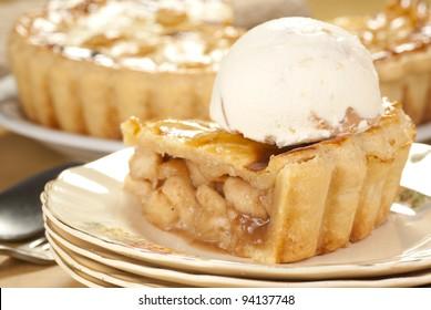 Apple Pie Ala Mode. Unsharpened file