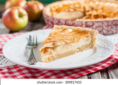 apple pie with cottage cheese.
