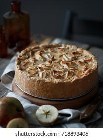 Apple pie - rustic style