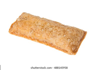Apple Pie Snack Isolated on a white background
