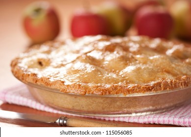 Apple Pie. Unsharpened file.
