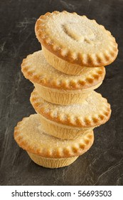 Apple Pies in a stack