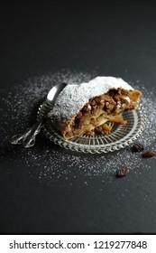 apple strudel, sweet Tyrolean