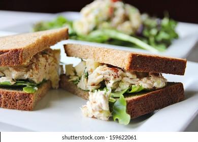 apple tuna sandwich