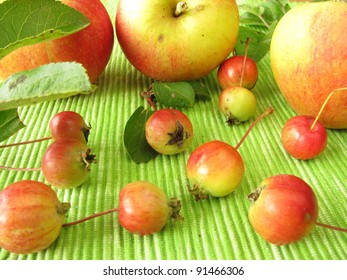 Apples and cherry apples
