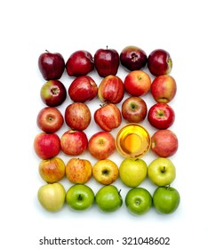 Apples and Honey together for the Jewish New Year Rosh Hashanah
