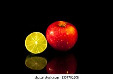 Apples and lemons go together