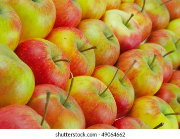 Apples, may be used as background