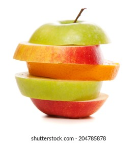 Apples and oranges mix