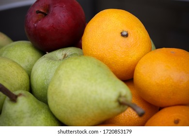 Apples, oranges, pears and bananas