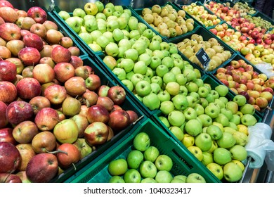 apples in the store, farm market