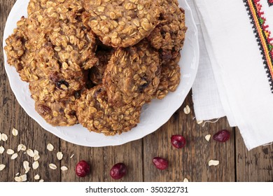 Cranberry Oatmeal Cookies Images Stock Photos Vectors Shutterstock