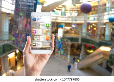 Application of Augmented Reality in Shopping mall