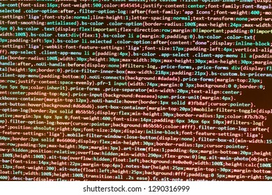 Application binary code,  PHP and coding technologies,  Python binary code,  Hacker background,  Cyber space concept,  Server complexity, virtual laptop background,  Programming on monitor background