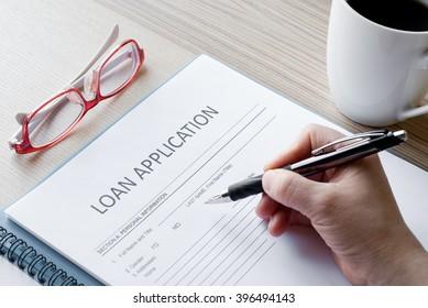 application form loan