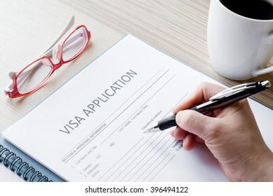 application form visa