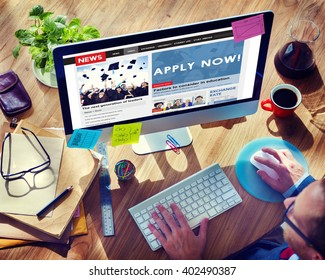 Apply Application Hiring Job Membership Concept