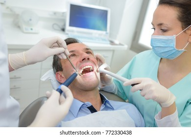 appointment with a dentist