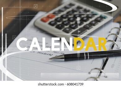 Appointment Meeting Agenda Calendar Concept