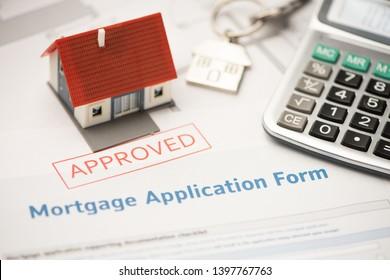 Beantragung eines genehmigten Hypothekarkreditvertrags