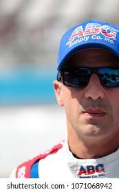 April 06, 2018 - Avondale, Arizona, USA: Tony Kanaan (14) prepares for a practice session for the Desert Diamond West Valley Casino Phoenix Grand Prix at ISM Raceway in Avondale, Arizona.
