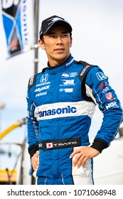 April 06, 2018 - Avondale, Arizona, USA: Takuma Sato (30) prepares to qualify for the Desert Diamond West Valley Casino Phoenix Grand Prix at ISM Raceway in Avondale, Arizona.