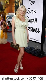 """April 10, 2008. Stormy Daniels at the World Premiere of """"Forgetting Sarah Marshall"""" held at the Grauman's Chinese Theater in Hollywood, California United States."""