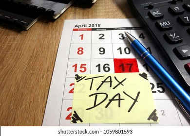 April 17th 2018 - tax day in the United States of America