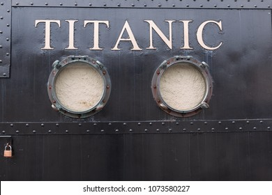April 18th, 2018, Cobh, county Cork, Ireland - Titanic Experience Cobh, a themed attraction in the former White Star Line ticket office.