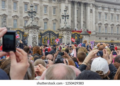 April 2011, Royal Wedding - Wedding of Prince William and Catherine Middleton in Buckingham Palace, London.