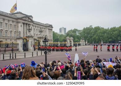 April 2011, Royal Wedding - Wedding of Prince William and Catherine Middleton in Buckingham Palace, London.