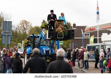 April 2017, Flower corso Voorhout, Bollenstreek, The Netherlands